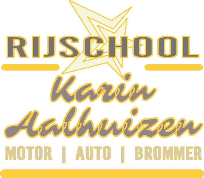 RIJSCHOOL KARIN AALHUIZEN Logo